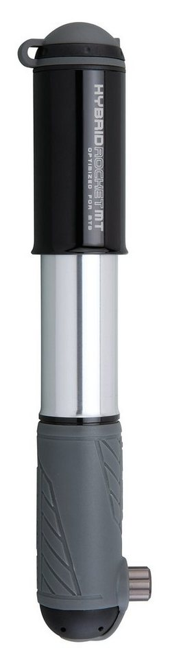 Topeak Fahrradpumpe »Hybrid Rocket MT schwarz«