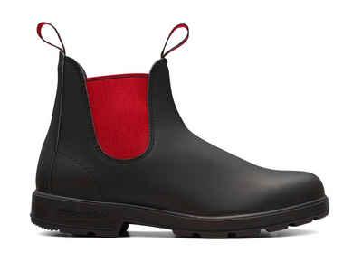 Blundstone »Black Leather & Red Elastics Model 508« Chelseaboots