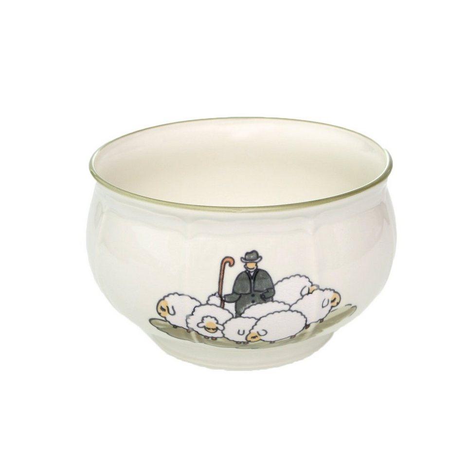 Zeller Keramik Schüssel »Schäfchen« in Weiß
