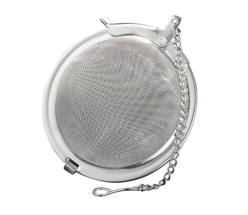 Küchenprofi Tee-/Gewürzkugel in Silber