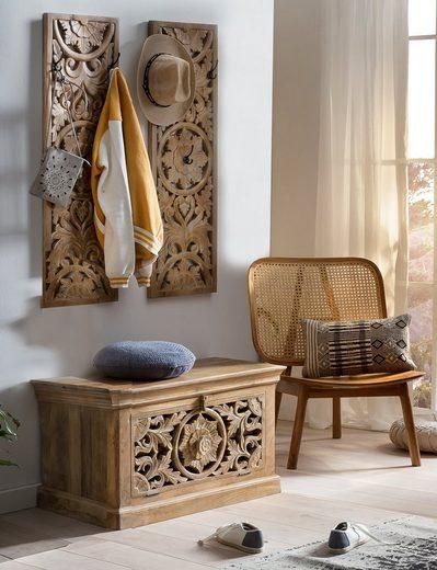 SIT Garderoben-Set »Lakadee«, (3-St), mit orientalischen Schnitzereien