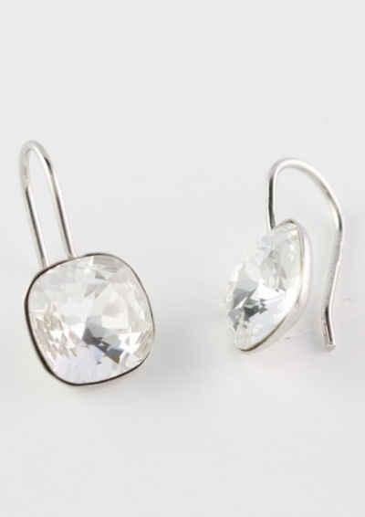 Firetti Paar Ohrhaken »quadratisch«, mit Kristallen