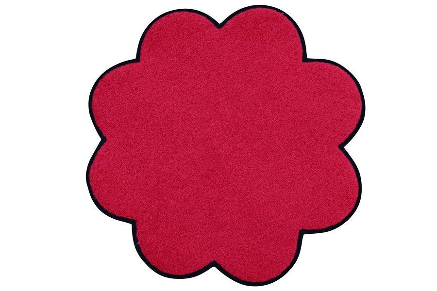 Fußmatte in rot