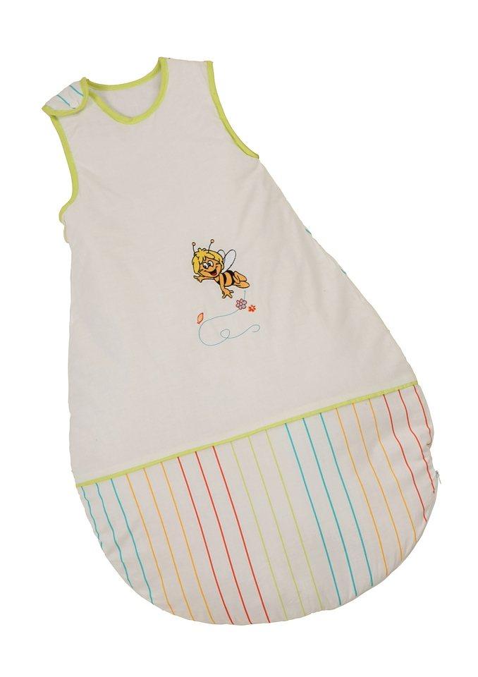 Schlafsack, Roba, »Biene Maja«, 90 cm in weiß