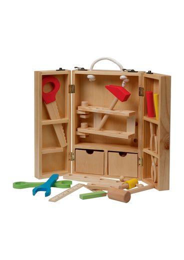 roba® Spielwerkzeugkoffer »klappbar«, (29-tlg)