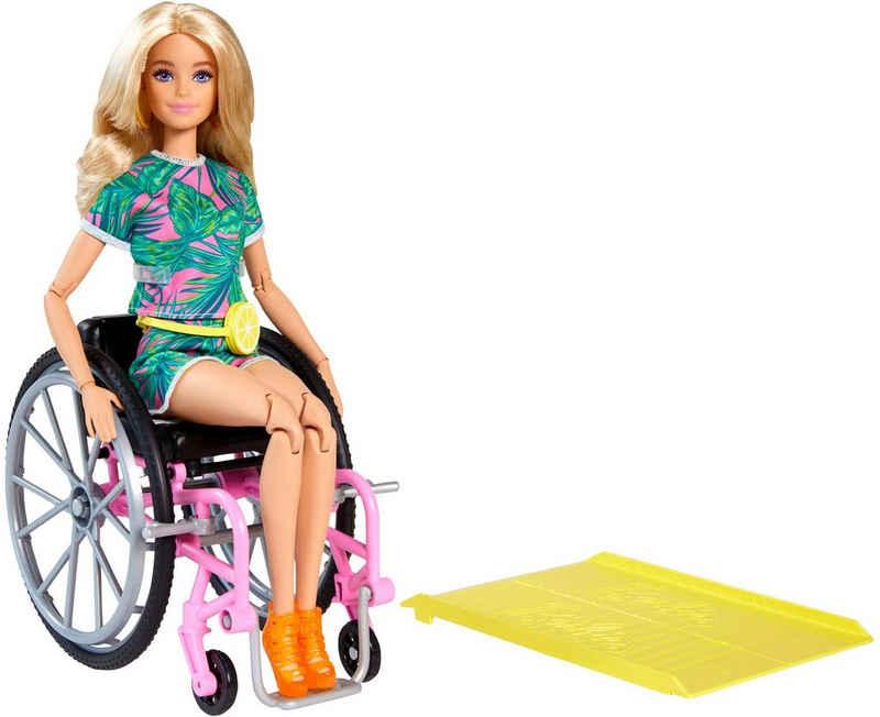 Barbie Anziehpuppe »blonde Fashionistas Puppe mit Rollstuhl«