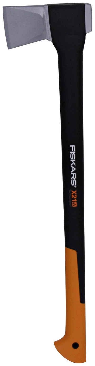 Fiskars Spaltaxt »X21-L«, 2100 g, 70 cm Länge, für mittelgroße Stammstücke von 20-30 cm