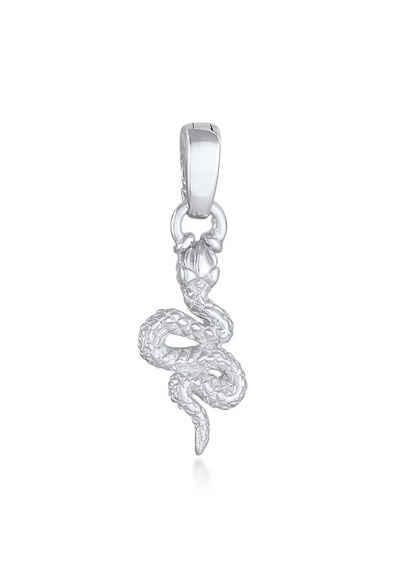 Elli Kettenanhänger »Schlange Snake 925 Silber«