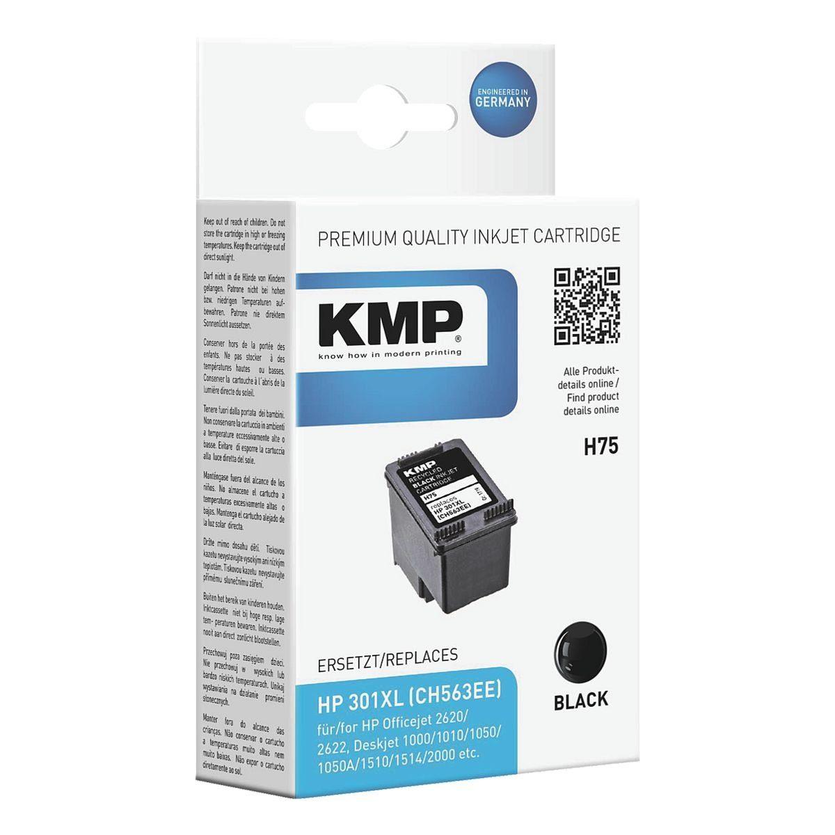 KMP Tintenpatrone ersetzt HP »CH563EE« Nr. 301XL