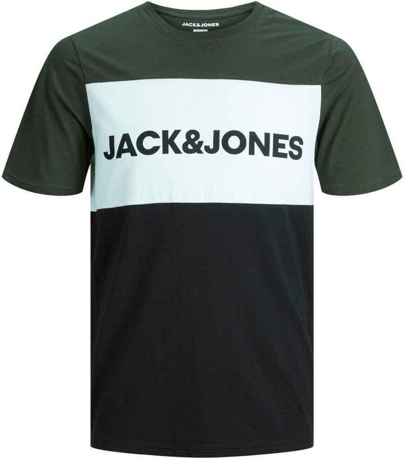 Jack & Jones Junior T-Shirt »JJELOGO BLOCKING TEE SS«