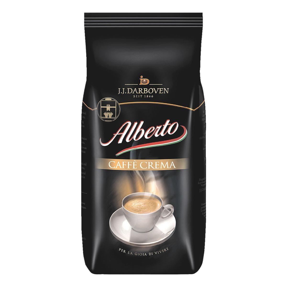 JJ.Darboven Kaffee - ganze Bohnen »Alberto Caffè Crema«