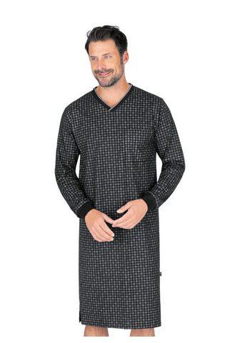 Trigema Naktiniai marškiniai su ilgis Armen ir...