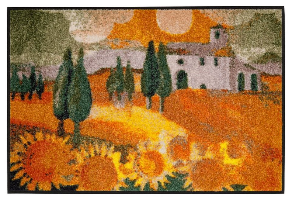 Fußmatte, Rosina Wachtmeister »Girasole« in orange