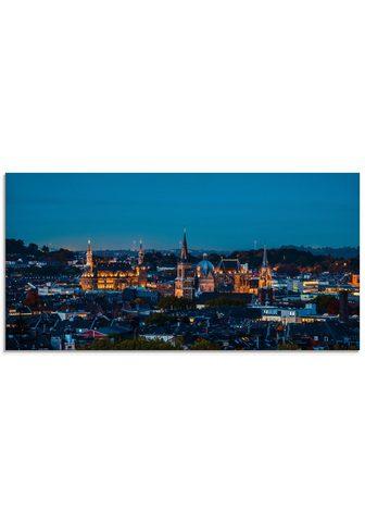 Artland Stiklinis paveikslas »Aachen Skyline I...