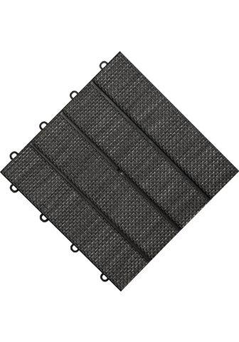 florco ® Terrassenplatten »Tex« 30x30 cm 6-St...