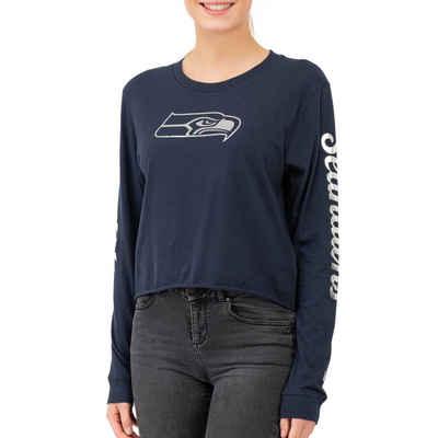 New Era Langarmshirt »NFL Cropped Seattle Seahawks«