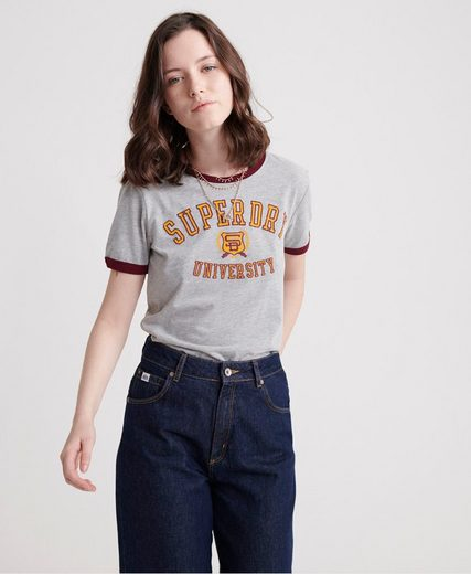 Superdry T-Shirt »SD UNIVERSITY ENTRY TEE« im angesagtem College-Style