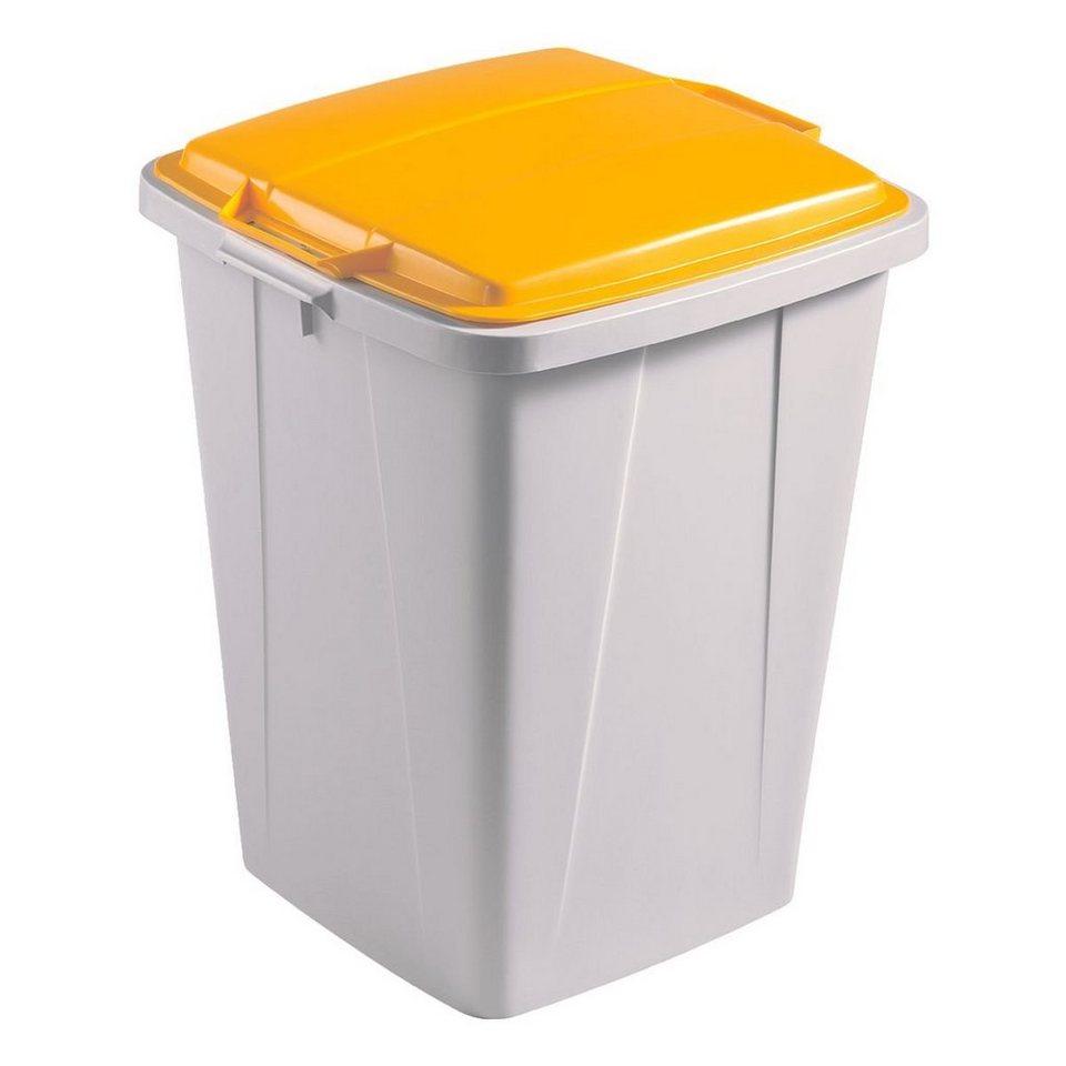 Durable Mülleimer »Durabin 90« in gelb
