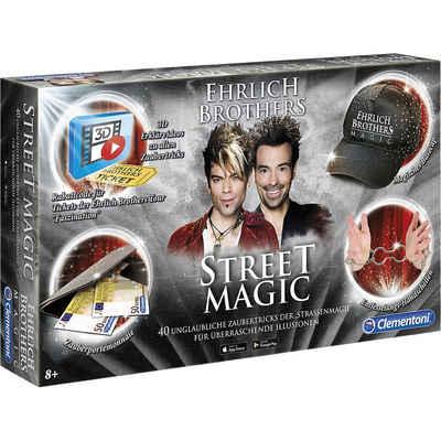 Clementoni® Zauberkasten »Ehrlich Brothers - Street Magic«