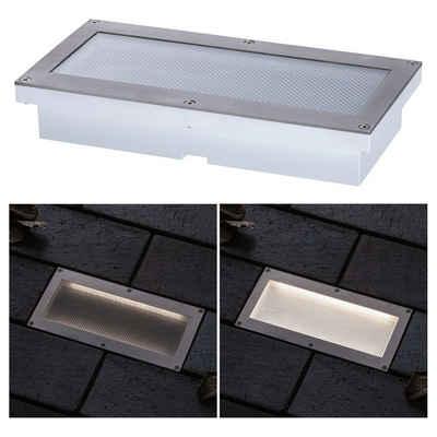click-licht LED Einbauleuchte »LED Bodeneinbauleuchte Brick in Aluminium und«, Einbaustrahler, Einbauleuchte