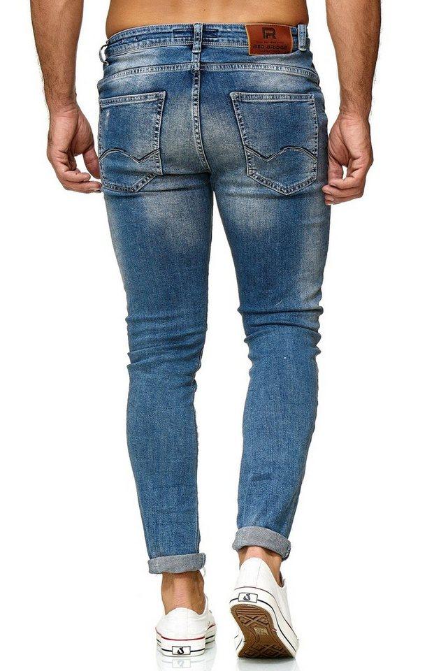 redbridge -  Bequeme Jeans »Nagoya« in detaillierter Destroyed-Optik