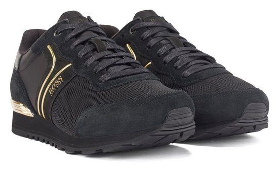 Boss »Parkour Runn« Sneaker mit dezenten Kontrast-Details
