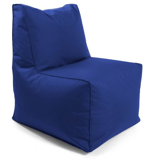 mokebo Sitzsack »Der Ruhepol«, Outdoor Sessel, Bean Bag & Gaming-Stuhl Innovation, verschiedene Farben & optional mit Hocker