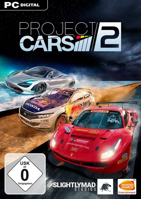 Project Cars 2 PC, Software Pyramide