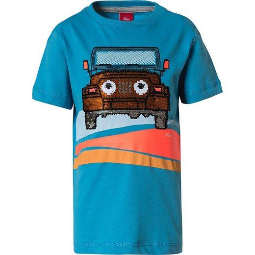 s.Oliver T-Shirt »T-Shirt für Jungen«