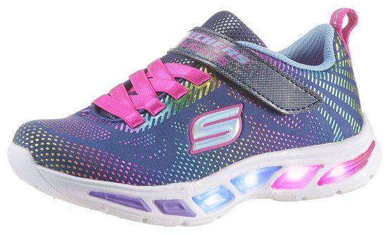 Skechers Kids »Blinkschuh LITEBEAMS-Gleam N`Dream« Sneaker mit blinkender Laufsohle
