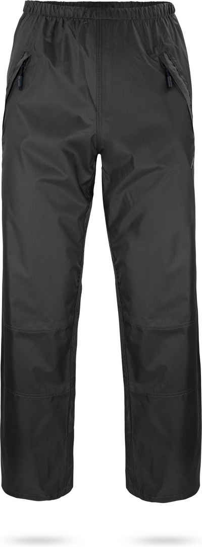 normani Regenhose »Regenhose Toronto« Wasserdichte Outdoorhose Fahrradhose mit Reißverschluss-Seitentaschen - Wassersäule: 6000 mm