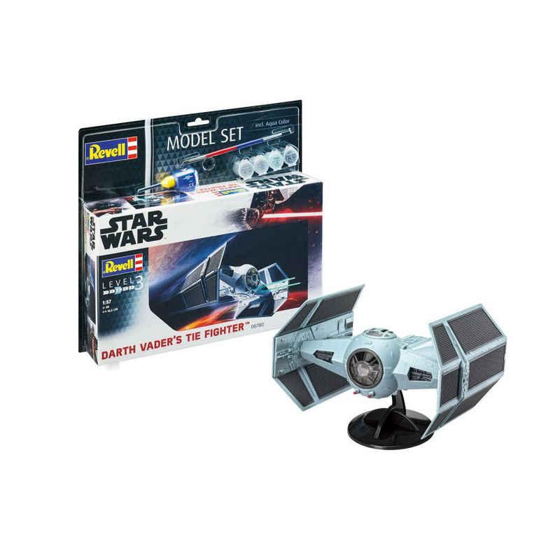 Revell® Modellbausatz »Model Set Darth Vaders TIE Fighter 66780«