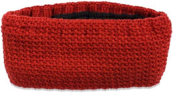 styleBREAKER Stirnband »Einfarbiges Stirnband in feiner Häkel Optik« Einfarbiges Stirnband in feiner Häkel Optik