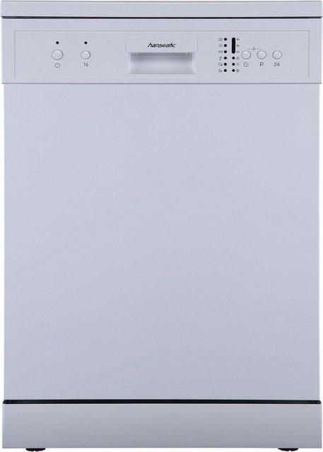 Küchengroßgeräte - Hanseatic Standgeschirrspüler, HG6085E127635W, 12 Maßgedecke  - Onlineshop OTTO