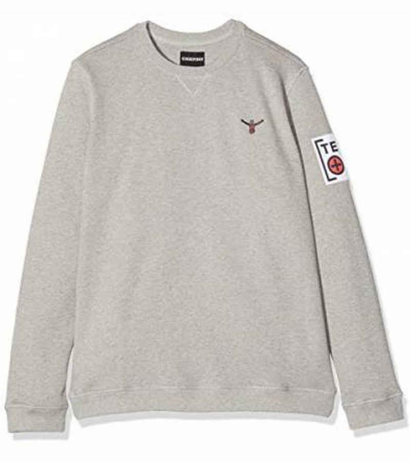 Chiemsee Sweater »CHIEMSEE Zayn Sweater angenehm zu tragender Herren Rundhals Pullover Pulli Grau«