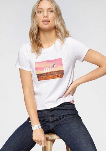 Levi's® T-Shirt »Fun Photo Butterfly« mit gesticktem Tiermotiv