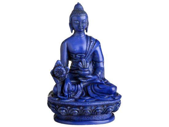 Buddhapur Buddhafigur »Medizinbuddha«, Handarbeit - 11 cm Höhe