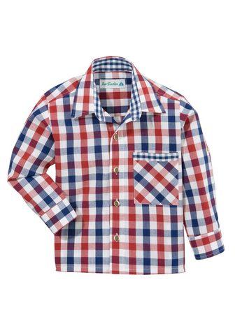 Isar-Trachten Tautinio stiliaus marškiniai in Karo-O...