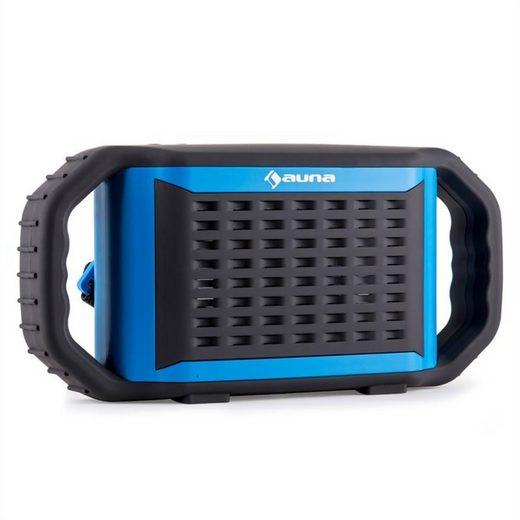 Auna Poolboy Bluetooth-Lautsprecher Blau USB AUX Wasserdicht Stoßfest Bluetooth-Speaker