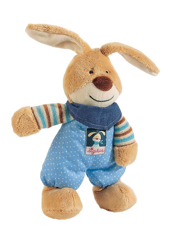 Sigikid Hase Häschen Semmel Bunny Blau Braun Stofftier Plüschtier 24 Cm Wie Neu Spielzeug