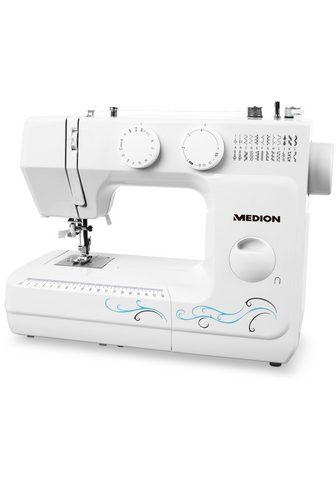 Medion ® Freiarm-Nähmaschine MD 18205 Knopflo...