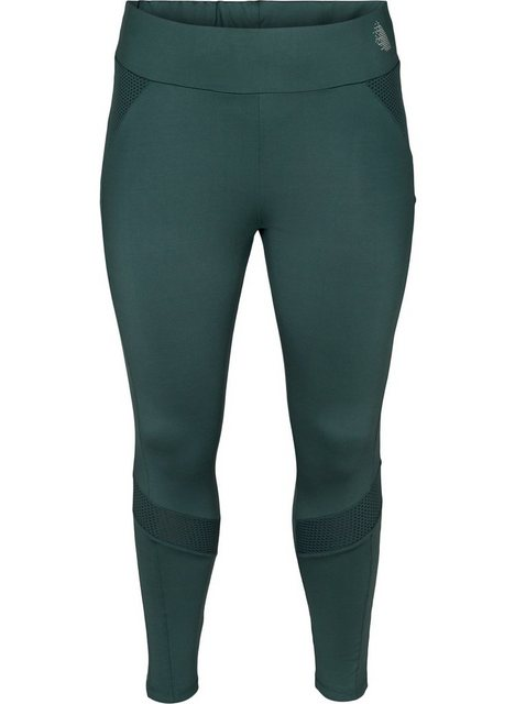 Hosen - Active by ZIZZI Trainingstights Große Größen Damen Stretch 7 8 Struktur Einfarbig ›  - Onlineshop OTTO