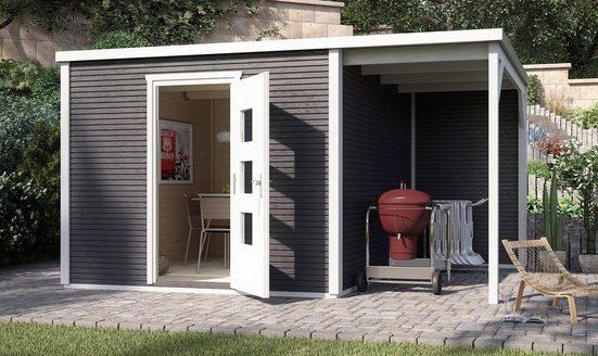 weka Gartenhaus »wekaLine 413A Gr.1«, BxT: 410x260 cm, (Set)