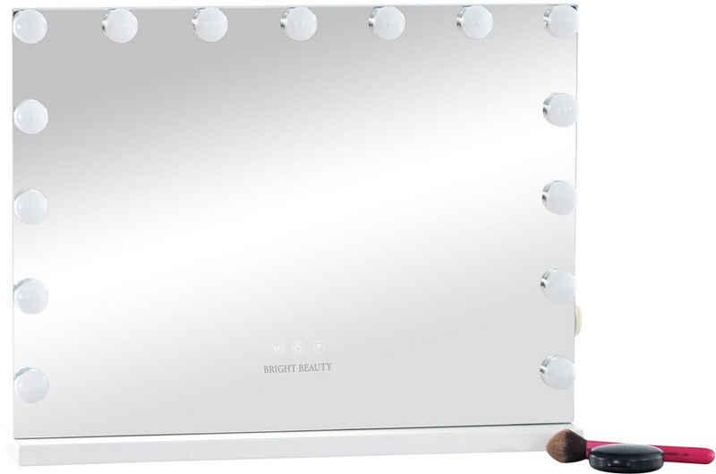 CLP Schminkspiegel »Downey«, energiesparend, Lichtregulierung, USB-Port