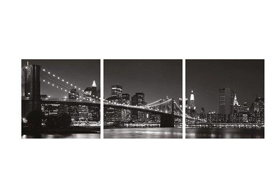 Deko-Print, EUROGRAPHICS, »Manhattan« in schwarz