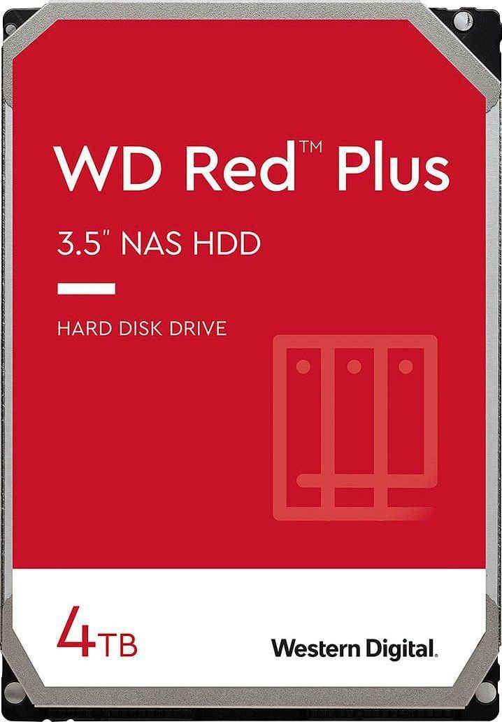 Western Digital »WD Red Plus« HDD-NAS-Festplatte (4 TB) 3,5)