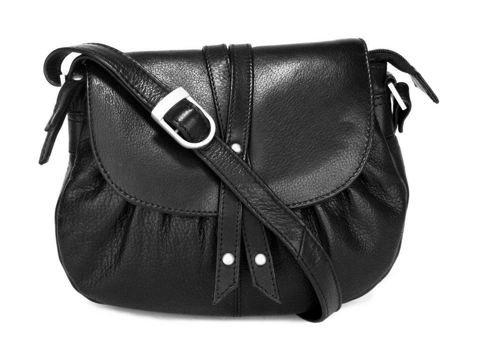 SZUNA Handtasche in schwarz