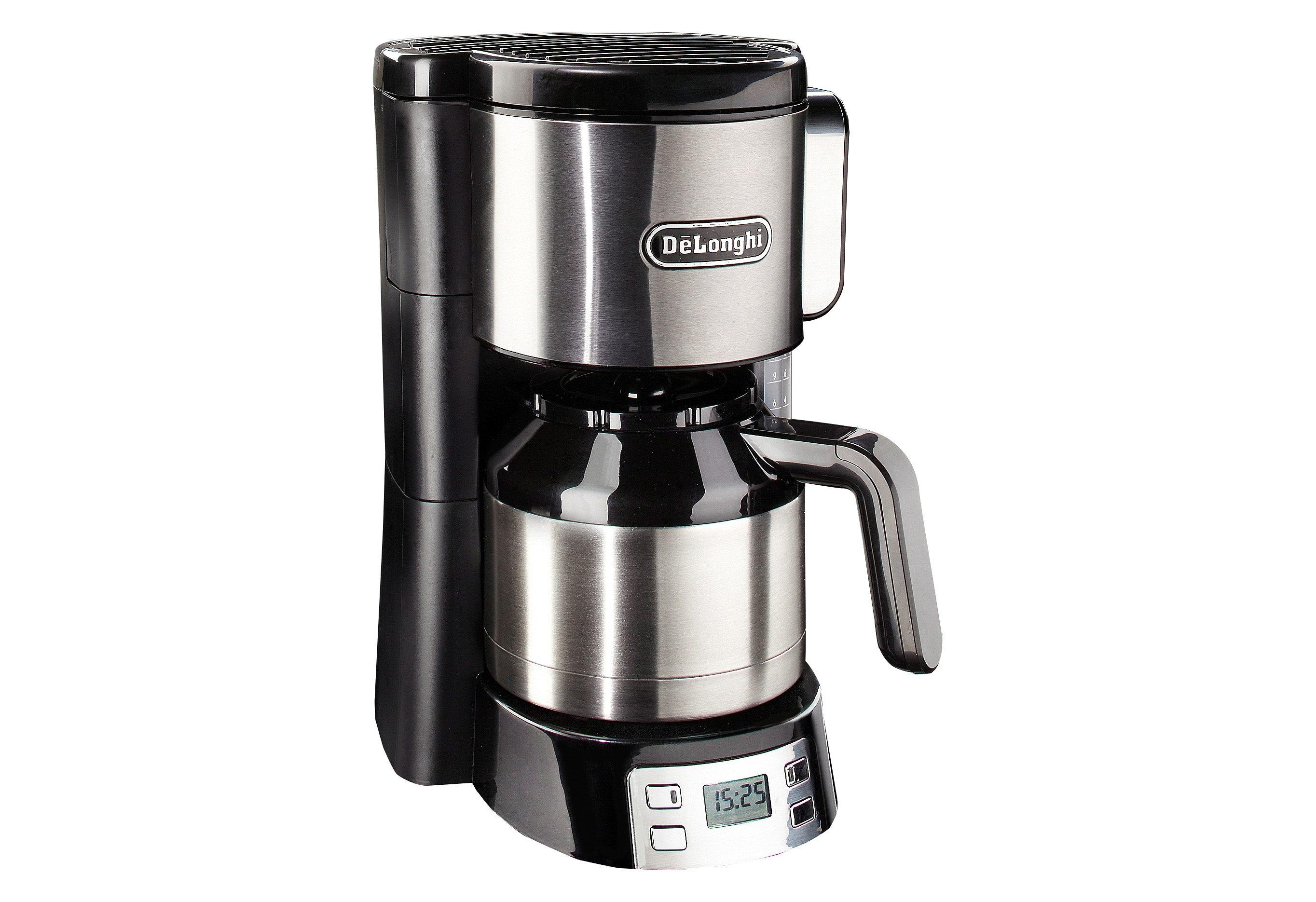 De´Longhi Kaffeemaschine »ICM15750«, mit 1,25 L Thermokanne, Abschaltautomatik, 1000 Watt