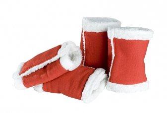 Horze Weihnachts-Stulpen »Horze Weihnachts Stulpen« in Rot