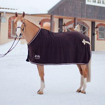 BVertigo Fleecedecke »Camelot« in Schokoladenbraun
